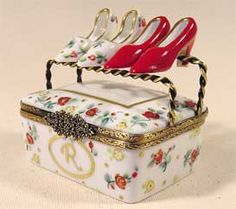 Limoges Shoe Box