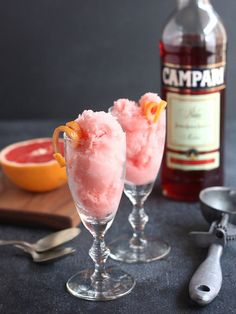 Grapefruit Campari Sorbet // www.completelydelicious.com by Completely Delicious, via Flickr