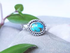 Jewelry Making, Turquoise, Rings, Handmade, Design, Hand Made, Green Turquoise, Ring