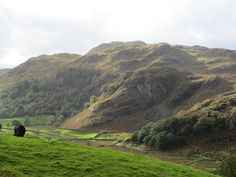 Raven Cragg from the East, Kentmere, Lake District