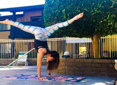 Perfection #yogagirl #motivation #goals