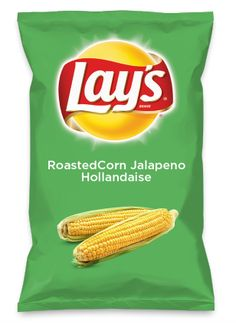 Wouldn't RoastedCorn Jalapeno Hollandaise be yummy as a chip? Lay's Do Us A Flavor is back, and the search is on for the yummiest flavor idea. Create a flavor, choose a chip and you could win $1 million! https://www.dousaflavor.com See Rules.
