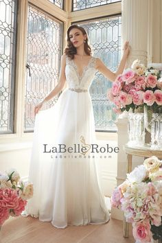 Cheap backless wedding gowns, Buy Quality wedding gowns directly from China noiva praia Suppliers: Bohemian Beach Wedding Dress Vestido De Noiva Praia 2017 Deep V Neck Beading and Lace Chiffon Backless Wedding Gown 2016 Wedding Dresses, Wedding Dress Chiffon, Cheap Wedding Dress, Wedding Dress Styles, Bridal Dresses, Wedding Gowns, Chiffon Skirt, Prom Dresses, 2017 Wedding