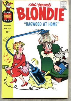 Blondie and Dagwood Comic Books   ... about Blondie Comics #140-1960 fn- Chic Young / Dagwood Giant-Size