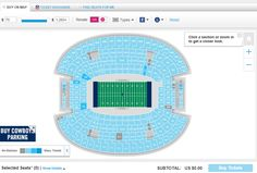 How much are Dallas Cowboys Tickets?