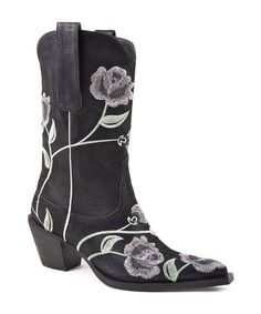 Take a look at this Black Rose Boot by Roper on #zulily today!