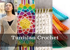Tons of amazing tunisian crochet tutorials you'll love! Come see them all!