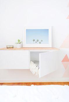 16+Astoundingly+Chic+IKEA+Hacks+via+@MyDomaine