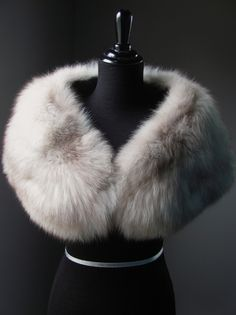 $560 - Stay luxuriosuly warm...Blaze & Lawrence Luxury Furs www.etsy.com/shop/AutumnandYosVintage?ref=hdr_shop_menu Ultimate Luxury Gift Or Wedding Bridal Prom Formal Accessories/ Hollywood Grey Norwegian Fox Fur Stole/ Vintage Cape Wrap Shrug /Brown White Silver Mех норка, 모피 밍크, 毛皮 狐狸, piel visón fourrure vison pele Pelz Nerz Päls pelliccia visone pels хутро лисиця bont ثعلب ترف 毛皮 ミ חַרפָּן שועל #Luxury #Gift #Accessories #Fashion #StreetStyle #Wedding #Prom #Formal #Classic #Fur