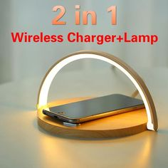 Modern and stylish design: The desk lamp is elegantly designed without scratches or stains. Save space and easy to store. The special metal rotating core is durable and can keep rotating. #wirelesscharger #lamp #iphone #iphonecharger #androidcharger Phone Charging Holder, Phone Holder, Led Wall Clock, Electronic Parts, Mobile Phone Cases, Phone Stand, Phone Accessories, Night Light, Table Lamp