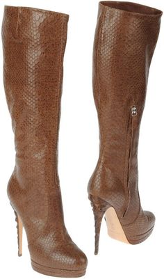 Women's Brown High Heeled Boots | To die for, Am and Boots