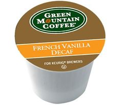 Green Mountain French Vanilla DECAF for Keurig Brewing Systems 24 K-Cups (4 Pack) >>> Additional details at the pin image, click it  : K Cups