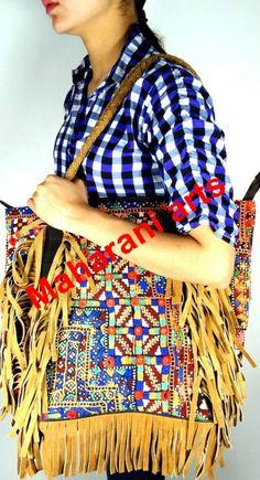 Hechos a mano Gypsy bordado Banjara bolsos de cuero Fringe bolsos-imagen-Bolsos -Identificación del producto:166481967-spanish.alibaba.com