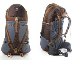Aji. For larger adventures. The girl version has bubbles on the zippers. Perhaps supposed to be fun, but I find lame