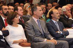 """El Rey Felipe VI entregó los Premios Internacionales de Periodismo """"Rey de España"""" 13-07-2016"""