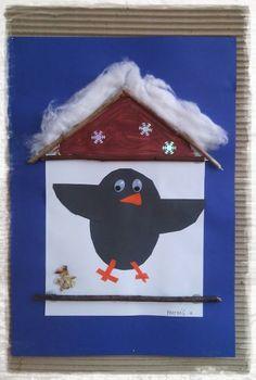 Winter Crafts For Kids, Winter Kids, Winter Art, Easy Crafts For Kids, Winter Theme, Toddler Crafts, Projects For Kids, Diy For Kids, Art Projects