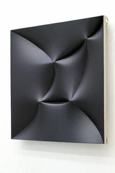 Jan Maarten Voskuil | Broken Black II | Acrylic on linen