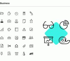 Inky Icon Series on Behance