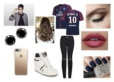 """Supporting Neymar Jr 3"" by miks15 ❤ liked on Polyvore featuring 2LUV, OPI, Ash and Casetify"