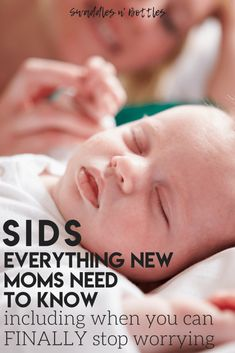 SIDS: What new mamas need to know. Including when you can finally stop worrying! Plus a list of things you should avoid in order to reduce the chances of SIDS. Newborn Baby Care, Stop Worrying, Baby Hacks, Baby Tips, Tips & Tricks, Pregnancy Tips, Pregnancy Health, Baby Health, Breastfeeding Tips