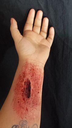 Silicone prosthetic cut Print Tattoos