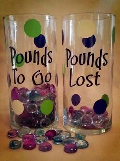 Creative to keep track of your weight loss....this will be good motivation to loose this baby weight