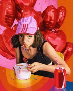 Motel Art on Behance Art Direction, Ronald Mcdonald, 3 D, Behance, Illustration Art, Photoshop, Design Inspiration, Fine Art, Creative