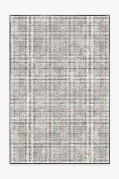 The classic Scottish pattern Glen Plaid layers a sophisticated red stripe against a black and white check background. Carpet Flooring, Rugs On Carpet, Carpets, 5x7 Rugs, Machine Washable Rugs, Glen Plaid, Plaid Fabric, Rug Cleaning, Woven Rug