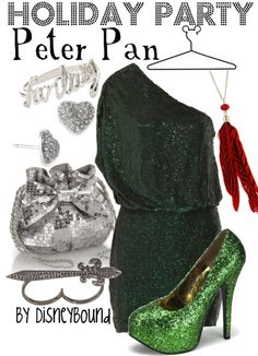 Peter Pan Inspired Holiday outfit