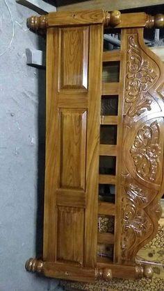 Home Door Design, Wooden Main Door Design, Wood Bed Design, Pooja Room Door Design, Door Design Interior, Bedroom False Ceiling Design, Bedroom Bed Design, Bedroom Furniture Design, Wood Furniture Legs