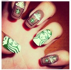 Star bucks nails