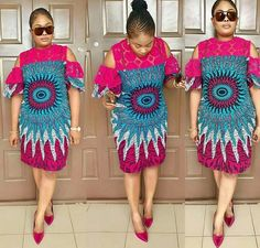 Style list this week, see what the babe's have been wearing out and about in Ankara style below. See Photos Style list this week, see what the babe's have been wearing out and about in Ankara style below. See Photos Latest African Fashion Dresses, African Print Dresses, African Print Fashion, Africa Fashion, African Dress, African Prints, African Attire, African Wear, African Women