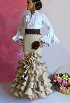 Resultado de imagen de hacer falda rociera