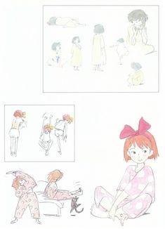 Hayao Miyazaki, Studio Ghibli, Kiki's Delivery Service, The Art of Kiki's Delivery Service, Jiji (Kiki's Delivery Service)