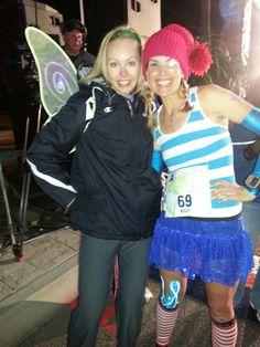 #rundisney Tinker Bell Half Marathon - run in costume! #teamsparkle #fitfluential