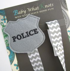 Police Badge Pacifier Clip,Officer Cop Badge Pacifier Clip, Pacifier Holder, pcbadge01 on Etsy, $9.50