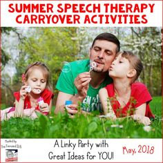 Summer Speech Therap