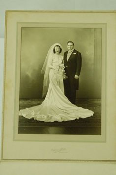 1950s Wedding Photo Vintage Large Bride Groom Party | Collectibles, Photographic Images, Contemporary (1940-Now) | eBay!
