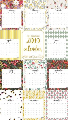 Bible Verse Calendar Printable For 2019 Planning Pinterest