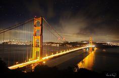 10 Seconds at Golden Gate Bridge by tt83x.deviantart.com