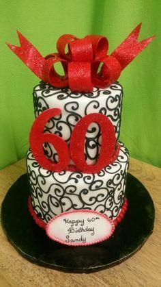 60 and sassy birthday cake CakeArt Birthday Pinterest