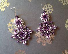 Beaded earrings handmade