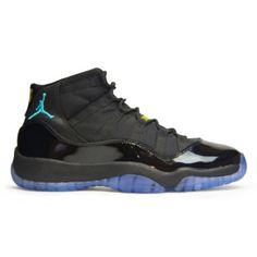 Order Air Jordan 11 (XI) Gamma Blue Retro 2013 Black Varsity Maize (Men Women GS Girls)  $149.00 http://www.fineretro.com/