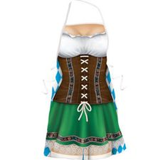 Oktoberfest Lederhosen Vest - Party City