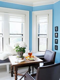 Loving this bold wall color