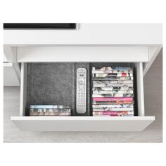 IKEA - BESTÅ Drawer divider gray