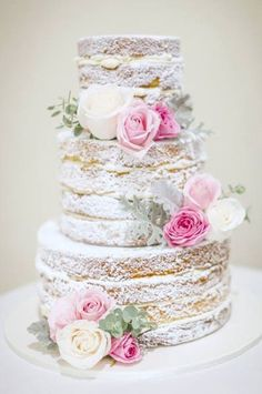 Alison Lawson Cakes - gorgeous cake, dont like the flowers