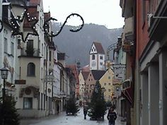 Fussen, Germany  beautiful and very neat town..