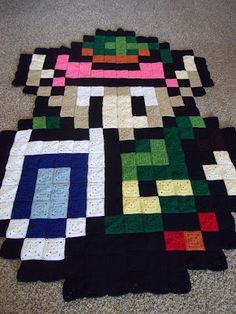 My biggest crochet project to date. ;)