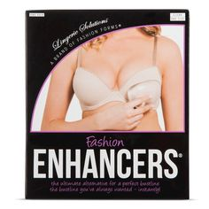 Fashion Forms Women's Silicone Enhancers - One Size Fits Most, Tan